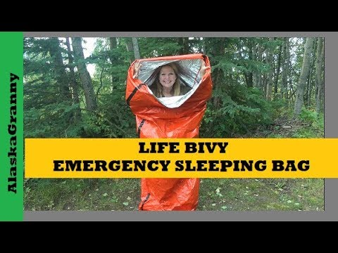 Life Bivy Emergency Sleeping Bag Survival Shelter Go Time Gear