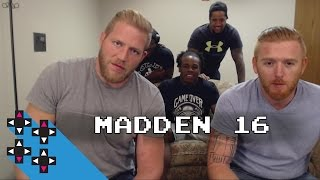 Jack Swagger vs. Heath Slater starts Round 2 (Madden 16 Tournament) — Gamer Gauntlet
