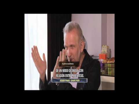 LA ENTREVISTA JUEVES 14 DE AGOSTO 2014 POR ADELA JEAN PAUL GAULTIER
