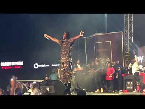 Stonebwoy Endorsed Kpoo Keke Drink At VGMA Nominees Jam At Kumasi