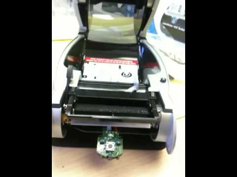 Clearing A Paper Jam From A Dymo Turbo 450 Printer Label Flow 6