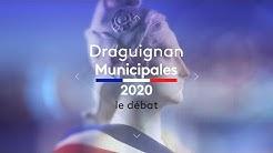 Municipales 2020 : débat à Draguignan - Le replay
