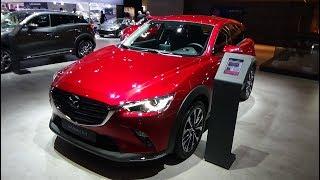 2019 Mazda CX-3 Skyactiv-G 121 BVM6 Hakone - Exterior and Interior - Auto Show Brussels 2019