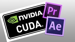 how to enable cuda for premiere pro and after effects