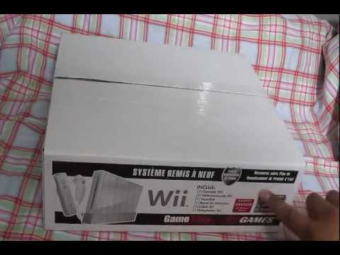 Eb Games / Gamestop Refurbished Nintendo Wii Unboxing