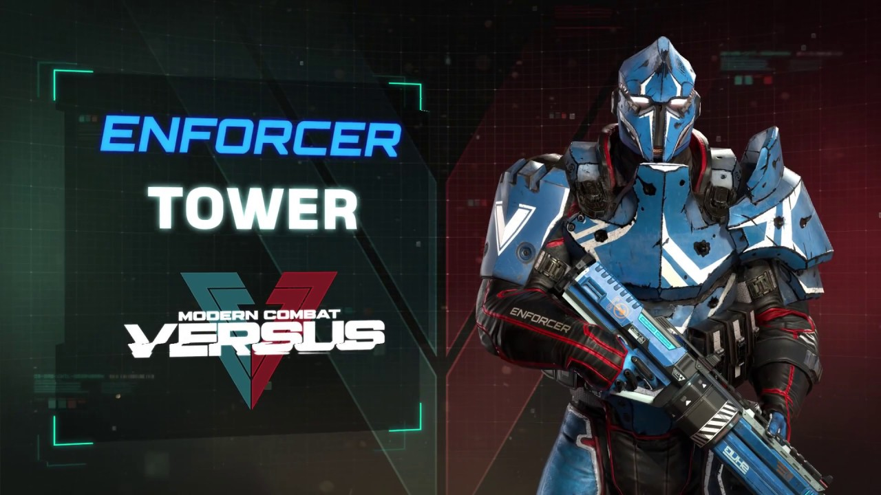 Modern Combat Versus: Enforcer TOWER Trailer