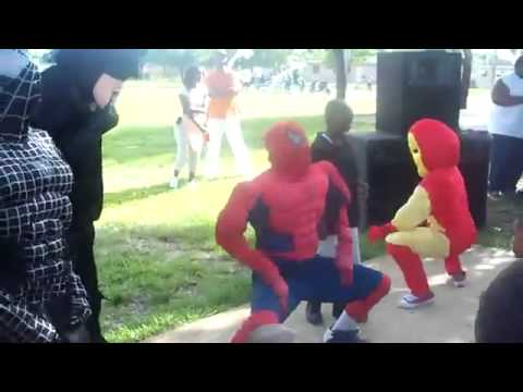 Superhero Dance