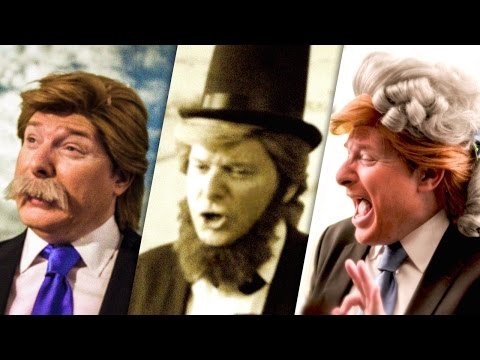 If Donald Trump Had Been President Throughout History