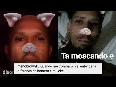"""MANO BROWN AMEAÇA MASCARENHAS - MEME """"Tá moscando é Brown"""" - TRETA MANO BROWN VS YOUNG MASCKA"""