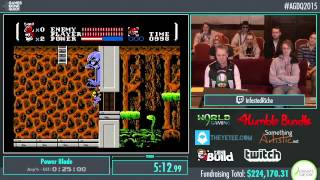 Awesome Games Done Quick 2015 - Part 45 - Power Blade by InfestedRiche