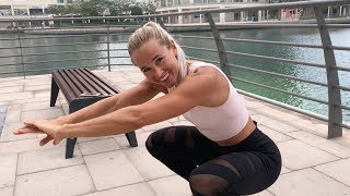 Tabata Bottom to Bottom Air Squats (w/ Inger Houghton)