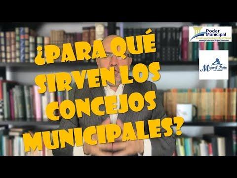 Funciones constitucionales de los concejos municipales - video uno -