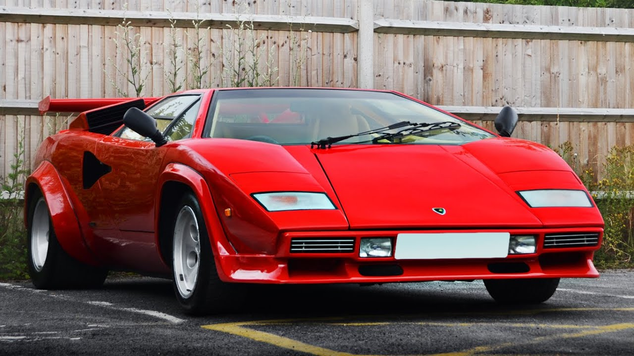Video Showcase Lamborghini Countach 5000 S Raw Sounds