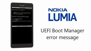 Success Microsoft Nokia Lumia  Boot Manager Error Solution Bricked Phone Start up Error