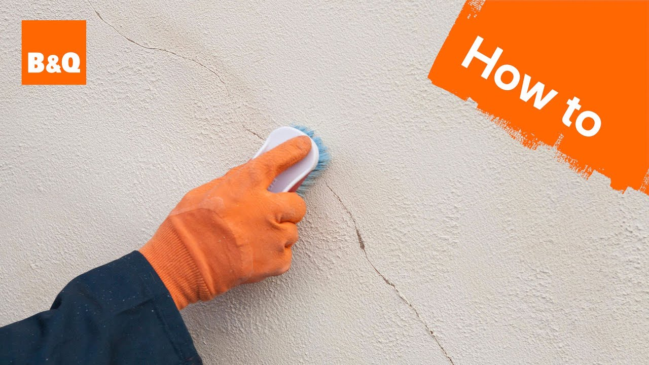 How to prepare an external wall for painting - YouTube