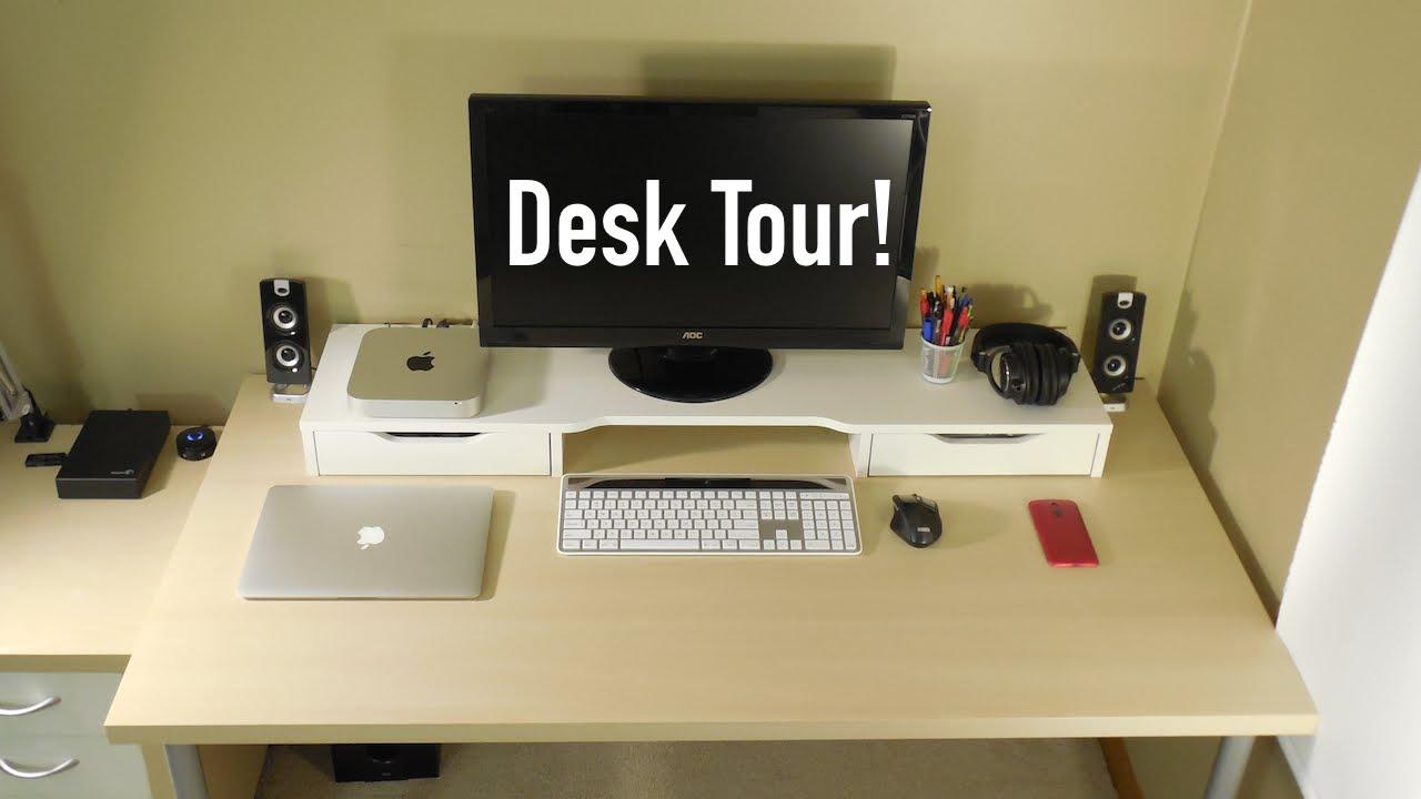 Ultimate Tech Desk Setup 2015 Youtube