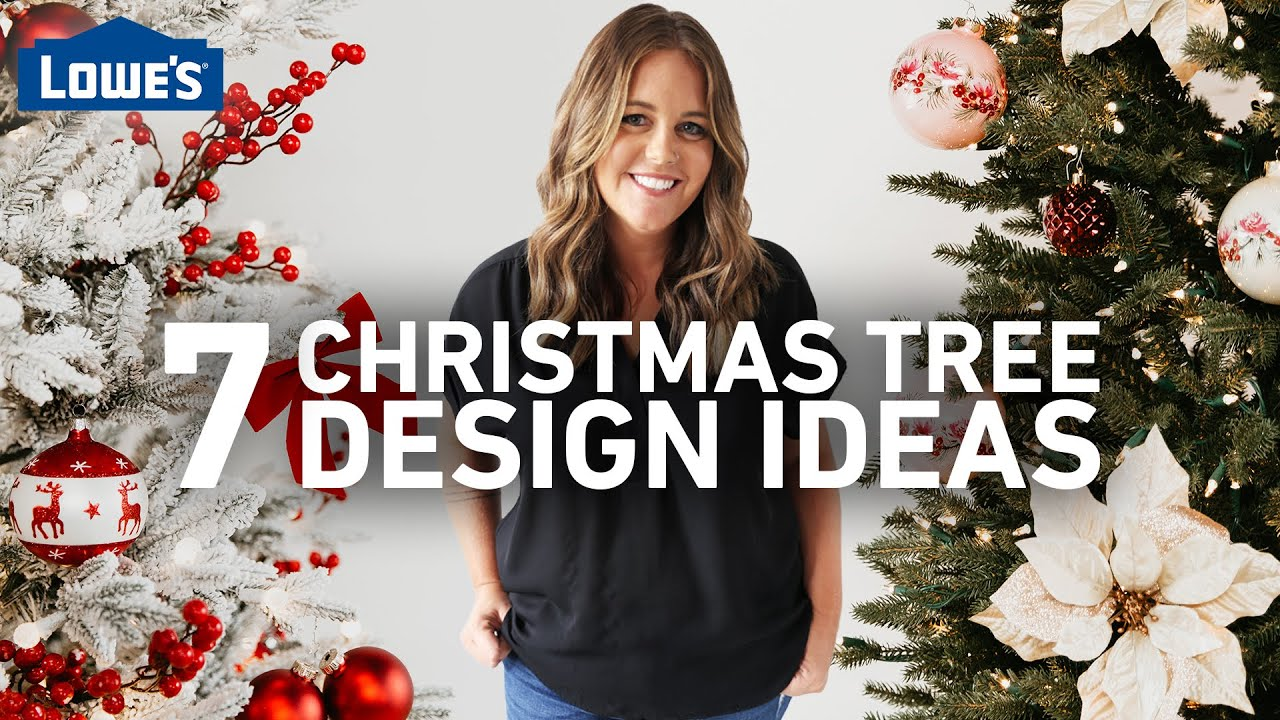 7 Christmas Tree Design Ideas | How to Decorate a Christmas Tree