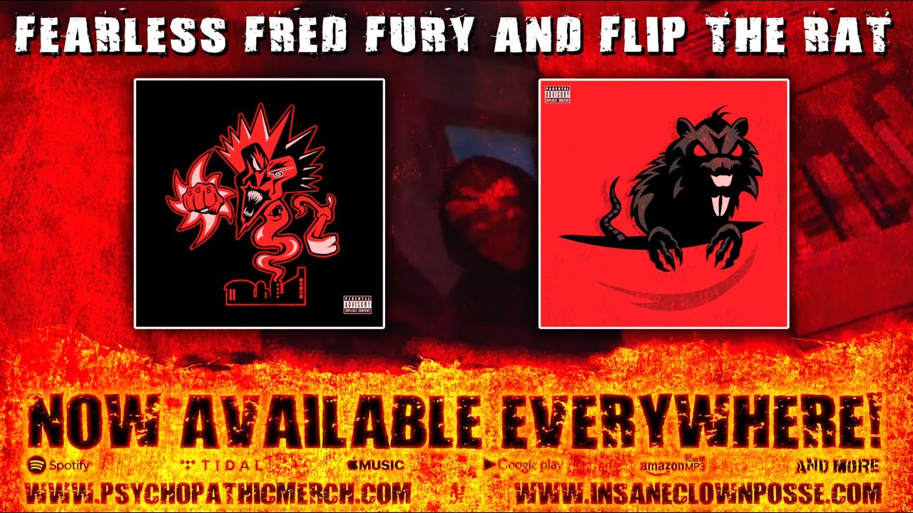 Fearless Fred Fury and Flip The Rat Available Now! - Uploaded on Apr 23, 2019