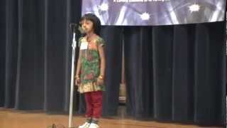 Talent Time 2012 - Malayalam Poetry recitation - Ria Rejive