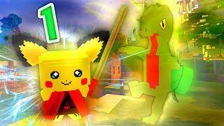"""Minecraft Pokemon - """"Our Adventure Begins!"""" - Episode 1 (Vanilla Minecraft Pokemon)"""