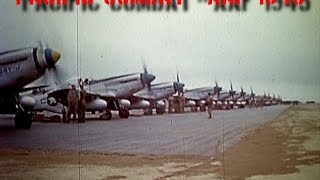 World War II Color P-51s and B-29s - Part 2
