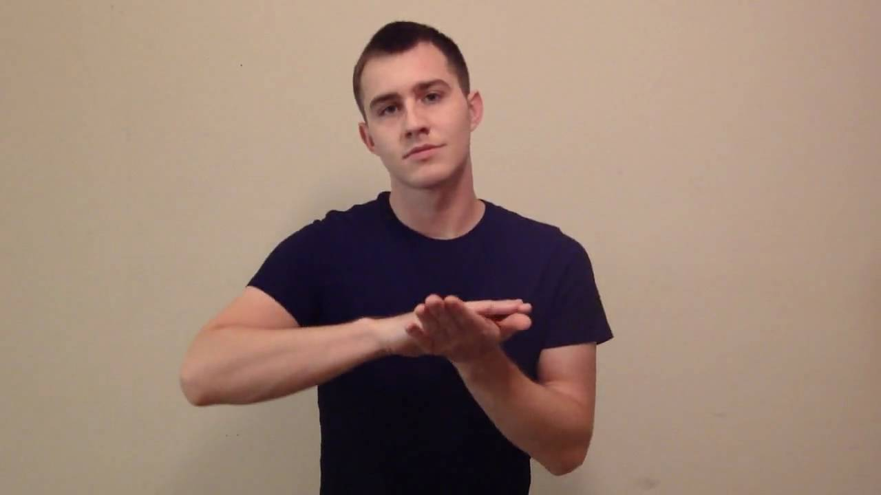 Nice In American Sign Language Youtube