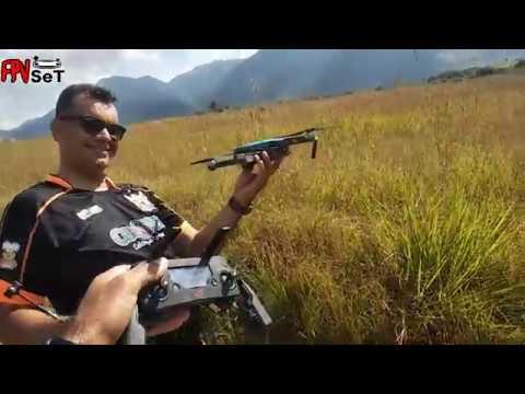 Drone Quase Pousa No Lago ( Resgate Foi Tenso )