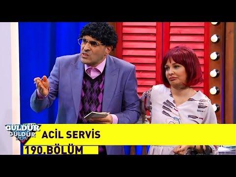 Güldür Güldür Show 190.Bölüm - Acil Servis