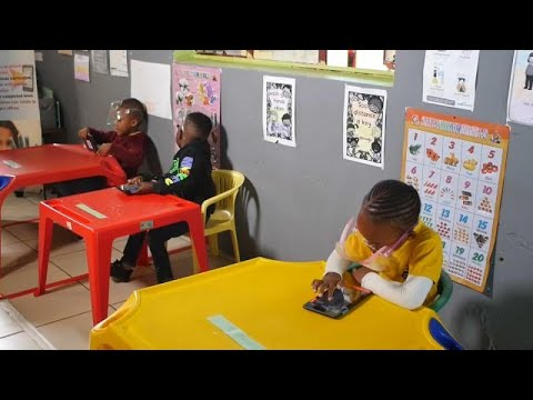Mobile gaming app shines light on learning experience for kids in South African township