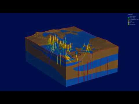 3D Geological Model of Hellisheidi geothermal field with Leapfrog Geo