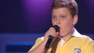 """Hayk: """"Talking To The Moon"""" - Audiciones a Ciegas - La Voz Kids 2017"""