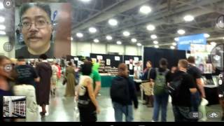 First day at Salt Lake City Comic Con