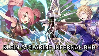 FE Heroes - Klein & Clarine Infernal with Blue Tomes Only!
