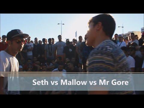 SETH VS MALLOW VS MR GORE Filtros Clasificatoria FullRap VLC VS MADRID