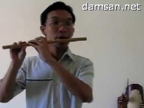 Kỹ thuật sáo trúc - Kỹ thuật đánh lưỡi kép