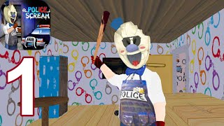 Granny Ice Scream Police: The scary Game Mod - Gameplay Walkthrough Part 1 (Android,iOS)