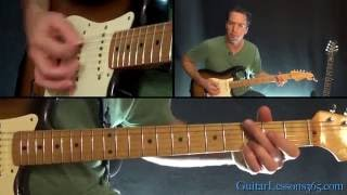 AC/DC - Shoot To Thrill Guitar Lesson (Part 1)