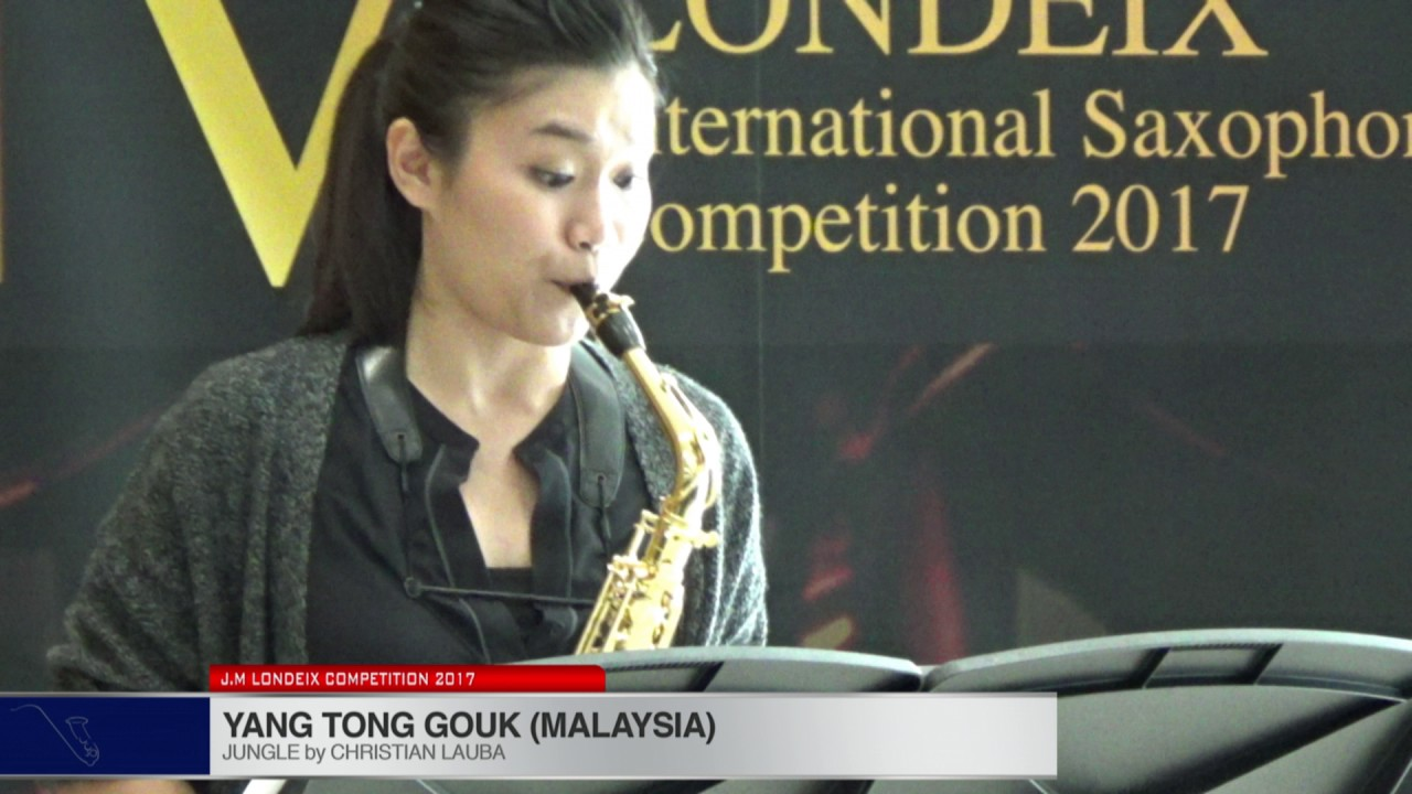 Londeix 2017 - Yan Tong Gouk (Malaysia) - Jungle by Christian Lauba