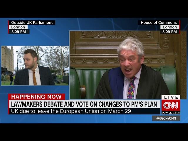 CNN CTW Brexit round up 29/1/19