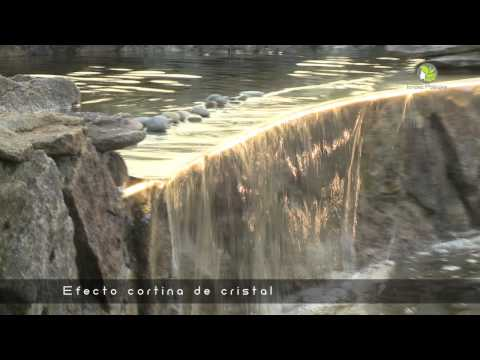 Construccion estanque de piedra youtube for Estanque construccion