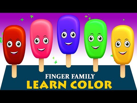 Thumbnail: Learn Colors With Surprise Eggs, Ice Cream #22 | Learn Colors For Children