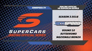 iRacing Official V8 Supercar Series | Round 10 | Monza