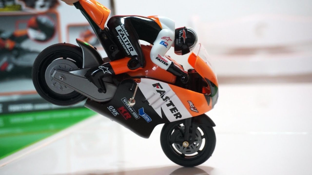 Mini RC Racing Super Bike Review   YouTube