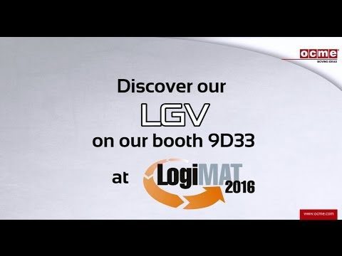 Discover our complete internal logistic solutions at LogiMAT fair - Booth 9D33