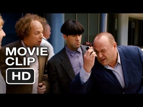 The Three Stooges #6 Movie CLIP - Smile (2012) HD Movie