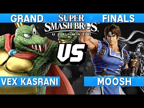 Smash Ultimate Tournament Grand Finals - Vex Kasrani (King K Rool) vs Moosh (Richter) - S@LT 177
