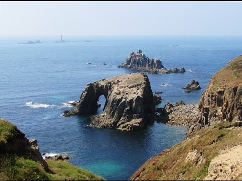 Cornwall Coastal Walk   Land's End from Porthcurno round