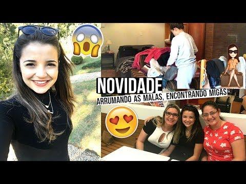 NOVIDADE, ARRUMANDO AS COISAS PRA IR EMBORA, CONHECENDO MIGAS ♥ - Bruna Paula