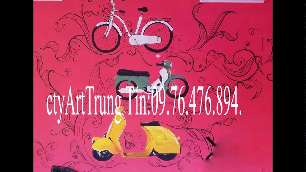 nhận vẽ tranh tường nghệ thuật cho mọi công trình chuyên nhiệp .ctyArtTrungTín0976476894