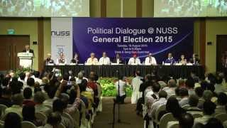 [IQ Exclusive] Political Dialogue @ NUSS: General Election 2015